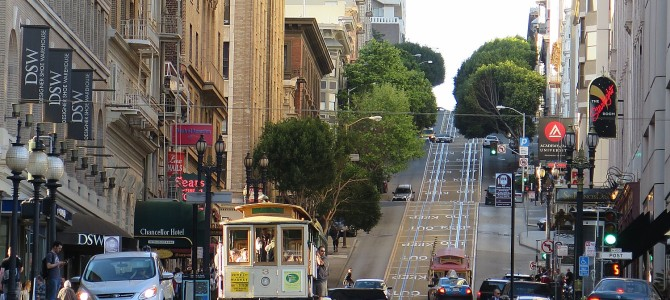 A Day in San Francisco Revisiting the Past:  Plucky Cable Car Epitomizes City's Grit, Determination, Innovation