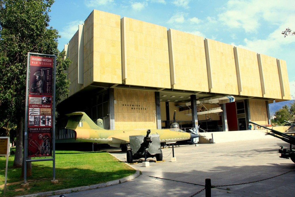 The Athens War Museum is a must-see for military history aficionados featuring four floors with artifacts from 3000 years of warfare, from the ancient times of Alexander the Great through to World War II (photo by Tim Campbell)