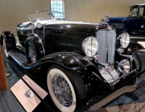 1932 Auburn Boattail Speedster is part of the JK Lilly III collection on view at Heritage Museum & Gardens, Sandwich © 2016 Karen Rubin/news-photos-features.com